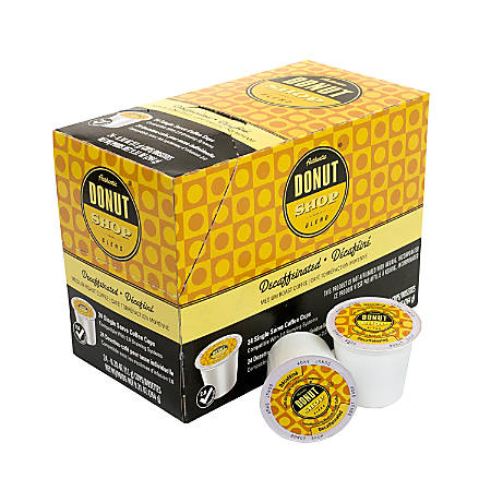 Donut Shop Medium Roast Decaf Coffee K-Cup® Pods, 1 Oz, Pack Of 24 Pods