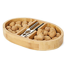 Mind Reader Nut Cracker And Bowl