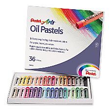 Pentel Oil Pastel Set Assorted Set