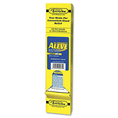 Lil' Drugstore Aleve, Individually Wrapped, Pack Of 30