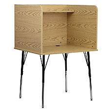 Flash Furniture Adjustable Study Carrel 53