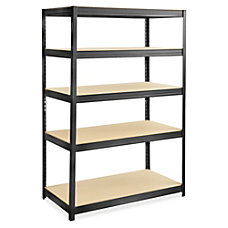 Safco Boltless SteelParticlebrd Shelving Unit 5