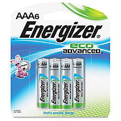 Energizer EcoAdvanced AAA Batteries AAA Alkaline