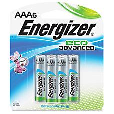 Energizer EcoAdvanced AAA Batteries AAA Alkaline