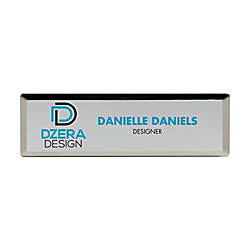 Rectangle Name Badge 1 x 3