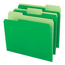 Office Depot Brand Interior File Folders