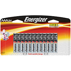 Energizer Max Alkaline AAA Batteries Pack