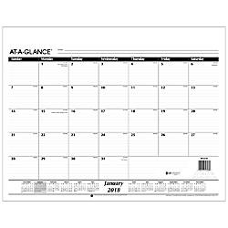 AT A GLANCE Desk Pad Refill