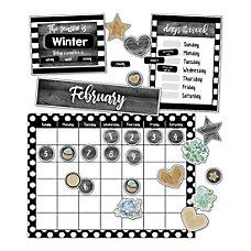Schoolgirl Style Simply Stylish Calendar Bulletin