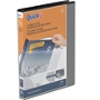 """Stride QuickFit Angle D-Ring View Binder, 5/8"""" Rings, 8 1/2"""" x 11"""", Black"""