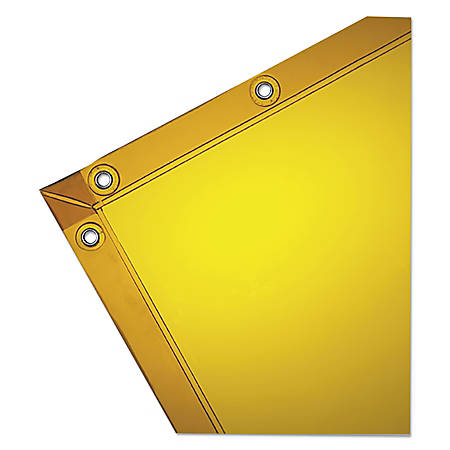 Wilson Industries Welding Curtain, 6' x 6', Gold