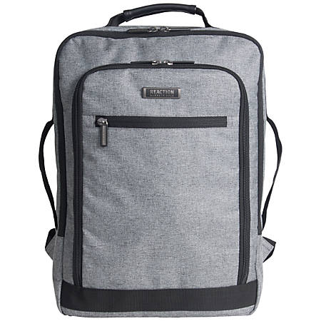 e8d6fc0b8fa8 Kenneth Cole Reaction R-Tech Checkpoint-Friendly Slim Laptop Backpack,  Charcoal Item # 5416341