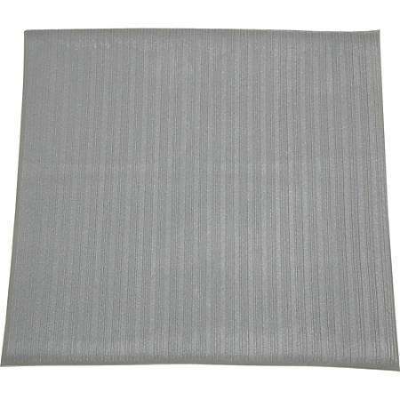 "SKILCRAFT 7220-01-582-6228 Anti-fatigue Mat - Floor - 36"" Length x 24"" Width x 0.37"" Thickness - Vinyl - Gray"