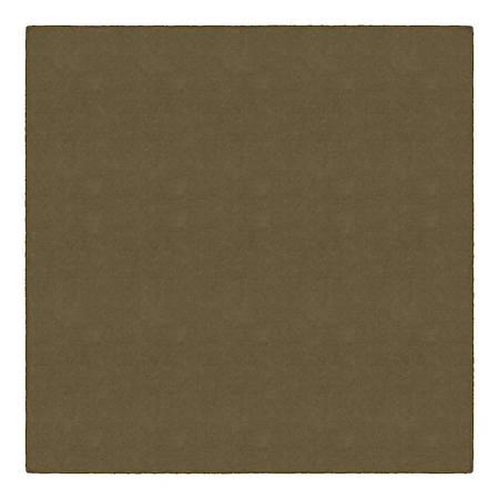 Flagship Carpets Americolors Rug, Square, 6' x 6', Almond