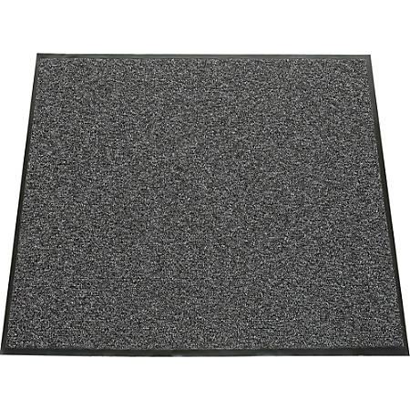 "SKILCRAFT 7220-01-582-6246 Entry Scraper Mat - Floor - 60"" Length x 36"" Width x 0.31"" Thickness - Vinyl - Gray"