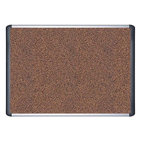 "MasterVision™ Teckcork™ Bulletin Board, 36"" x 48"""