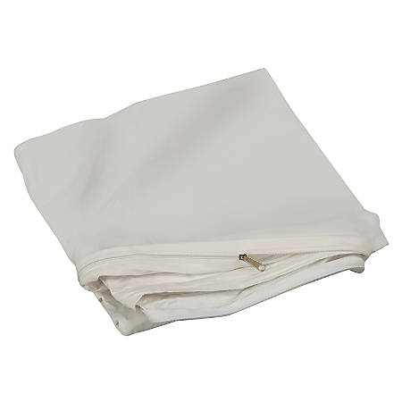 DMI® Zippered Plastic Mattress Cover Protector, Twin Size, White