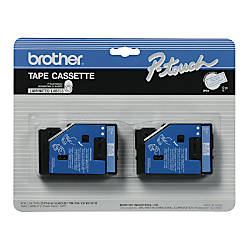 Brother TC 22 Blue On White