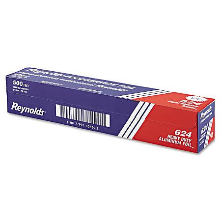 """Reynolds Wrap® Heavy-Duty Aluminum Foil Roll, 18"""" x 500', Silver"""