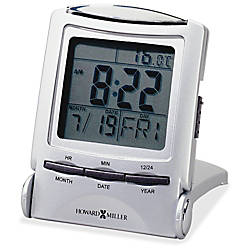 Howard Miller Travel alarm Clock Digital