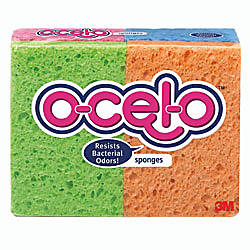 ocelo Cellulose Sponges Assorted Colors Pack