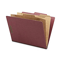 Nature Saver Classification Folders With Pocket