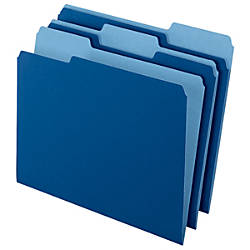 Office Depot Brand Top Tab Color