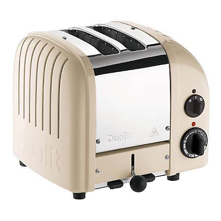 Dualit® New Gen Extra-Wide-Slot Toaster, 2-Slice, Cream