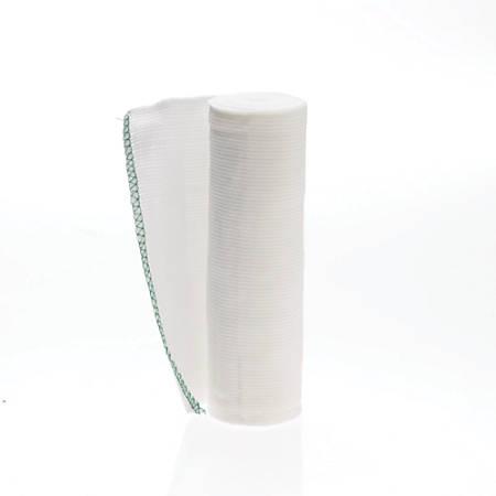 "Medline Non-Sterile Swift-Wrap Elastic Bandages, 6"" x 5 Yd., White, Case Of 20"
