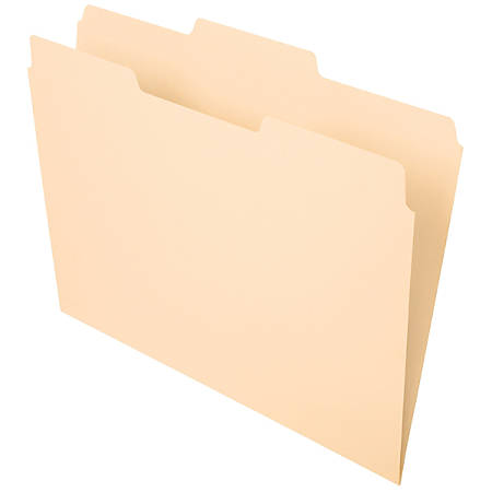Office Depot Brand File Folders 13 Cut Center Position Letter Size