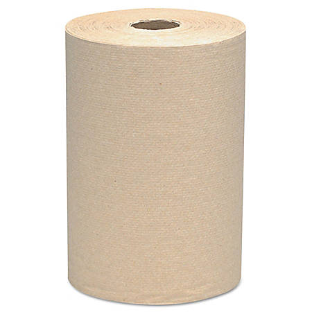 "Scott® 1-Ply Hard Roll Paper Towels, 8"" x 800', Brown, Pack Of 6"