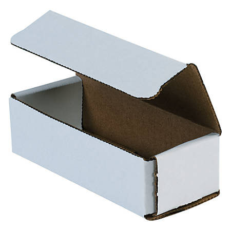 """Office Depot® Brand 8"""" Corrugated Mailers, 2""""H x 6""""W x 9""""D, White, Pack Of 50"""