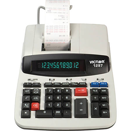 Victor® 1297 Commercial Printing Calculator