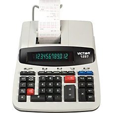Victor 1297 Commercial Printing Calculator