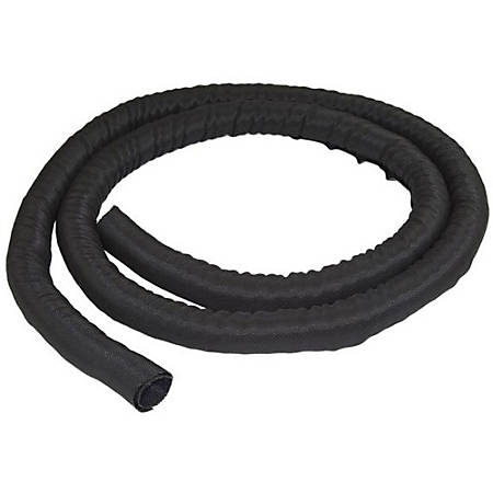 StarTech.com Cable Management Sleeve - 2 m - Cable Organizer - Flexible Cable Cover - Trimmable Fabric Cord Hider - Cord Management