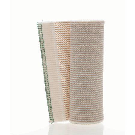 "Medline Non-Sterile Matrix Elastic Bandages, 6"" x 5 Yd., White/Beige, Box Of 10"