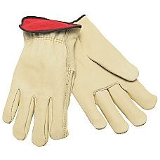 Memphis Glove Cowhide Drivers Gloves Fleece