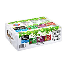 Minute Maid 100percent Juice Box Variety