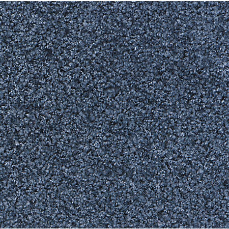 M + A Matting Stylist Floor Mat, 4' x 10', Steel Blue