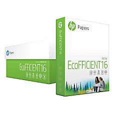 HP EcoFFICIENT Paper Letter Paper Size