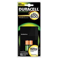 Duracell Ion Speed 500 Battery Charger
