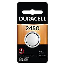 Duracell 3 Volt Lithium 2450 Coin