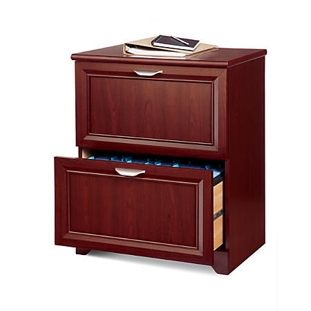 Reale Magellan 24 W 2 Drawer Lateral File Cabinet Clic Cherry