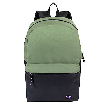 """Champion Forever Champ Ascend Backpack With 18"""" Laptop Sleeve, Green"""