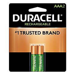Duracell NiMH AAA Rechargeable Batteries Pack