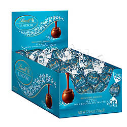 Lindt Lindor Truffles Sea Salt Milk
