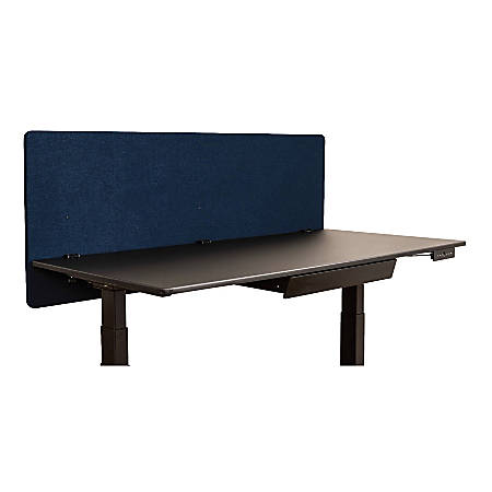 "Luxor RECLAIM PET Acoustic Privacy Panel, 24"" x 60"", Starlight Blue"