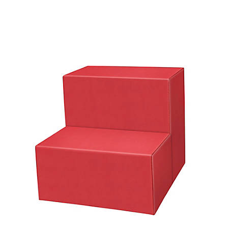 Marco 2-Step Seating Stool, Tomato