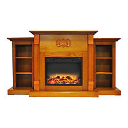 Cambridge Sanoma Electric Fireplace With Built