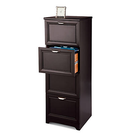 Reale Magellan Collection 4 Drawer Vertical File Cabinet 54 H X 18